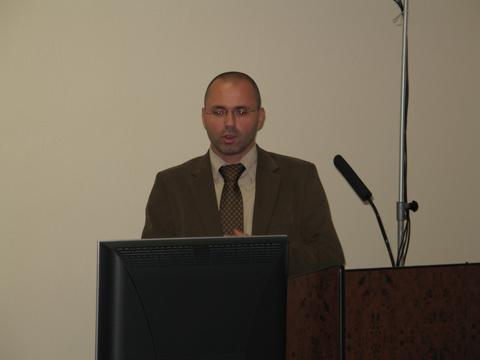 Foto 3: Arkadiusz Gorny predstavil novinky v elektronických službách OHIMu.