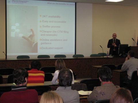 Výhody online sližieb OHIM-u prezentoval Arkadiusz Gorny
