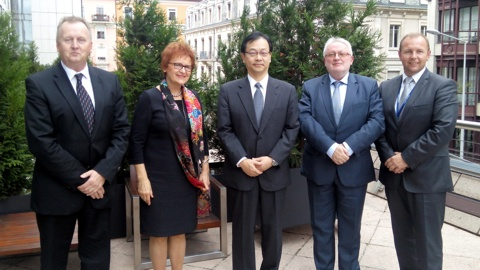 Meeting of delegations of the Visegrad Group with leaders of the Japan Patent Office