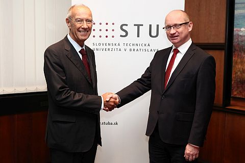 Francis Gurry visited Slovak Republic