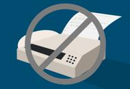 Discontinuation of fax services