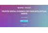 WIPO PROOF - TRUSTED DIGITAL EVIDENCE FOR YOUR INTELLECTUAL ASSETS