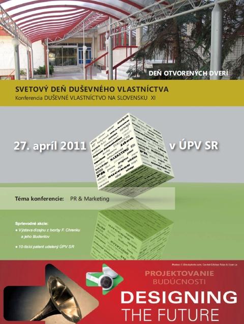 Obrázok plagátu k Svetovému dňu duševného vlastníctva